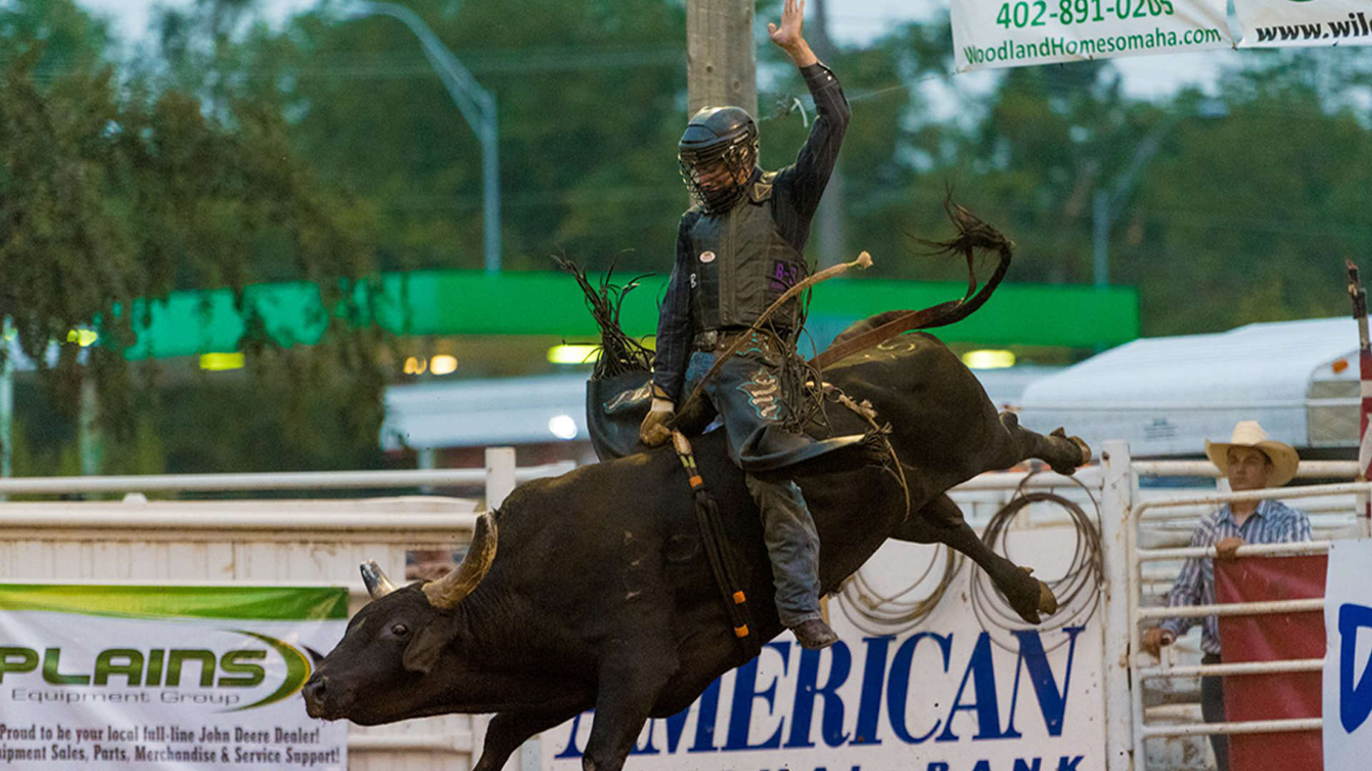 Sarpy County Fair & Rodeo Extreme Bull Riding