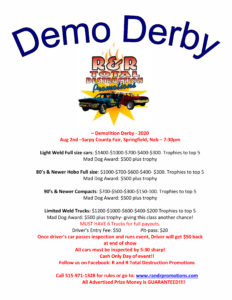2020 Demo Derby