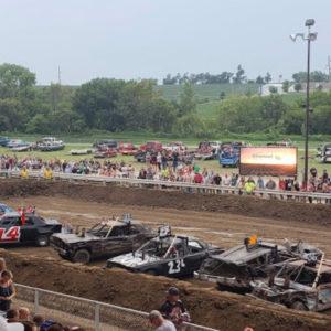 Sarpy County Fair Demo Derby