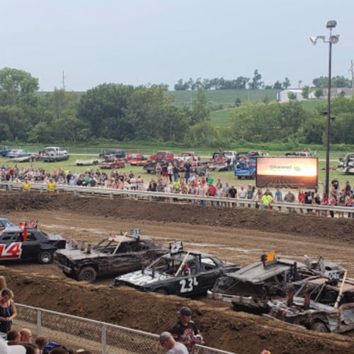 Sarpy County Fair Demo Derby
