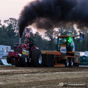 Truck and tractor pulls at the Sarpy County Fair