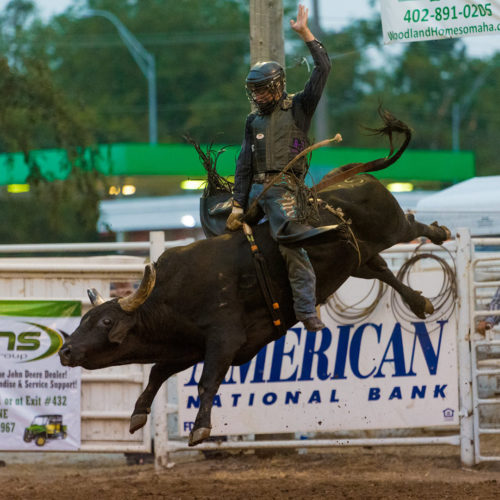 Extreme Bull Riding at the Sarpy County Fair