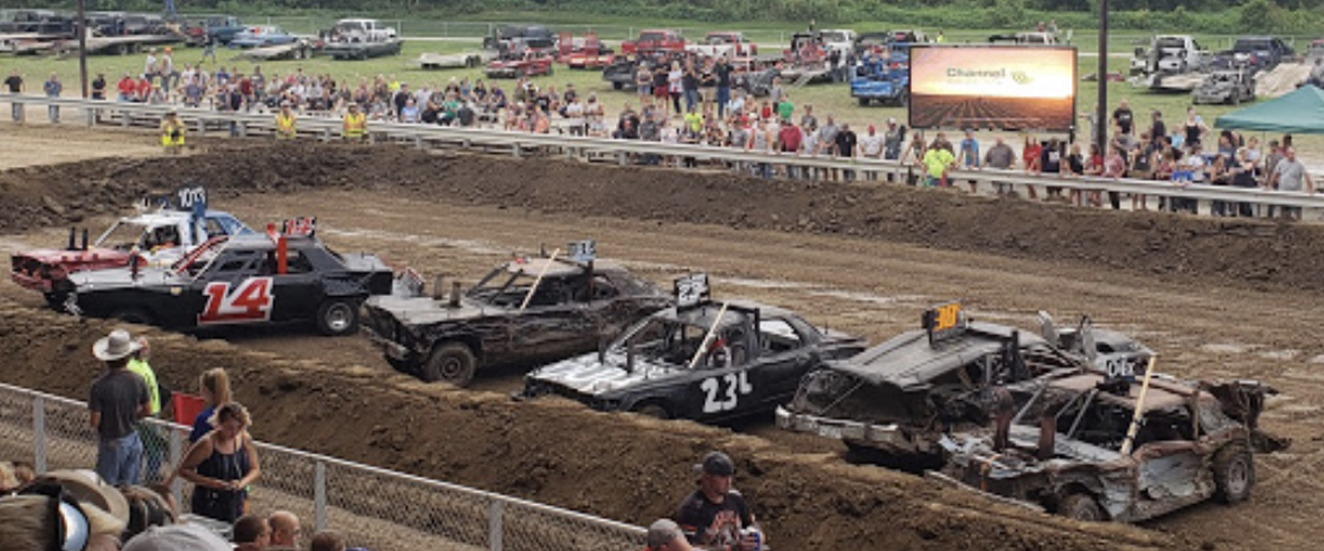 Sarpy County Fair Demolition Derby