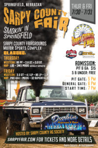 2020 Smokin' in Springfield - Sarpy County Fair - Lucas Oil Tractor and Nebraska Bush Pull